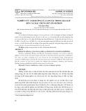 Nghiên cứu ảnh hưởng của Ion sắt trong Zeolit đến các đặc trưng hủy Positron