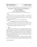 Tổng hợp vật liệu mao quản trung bình SBA –15 và MN – ZNO SBA –15