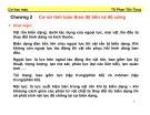 Bài giảng môn học Cơ học máy: Chương 2 - TS. Phan Tấn Hùng