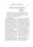 Nhân học và vai trò của nhà nhân học