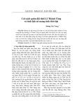Cải cách quân đội thời Lê Thánh Tông và tính lịch sử mang tính thời đại