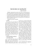 Sinh thái nhân văn vùng Đông Bắc