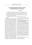 Cơ chế Đảng lãnh đạo, Nhà nước quản lý và Nhân dân làm chủ ở Việt Nam