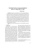 Nước Đại Việt bảo vệ chủ quyền lãnh hải dưới các vương triều Lý, Trần