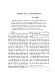 Tính hiếu học của người Việt Nam
