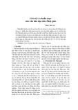 Giá trị và chuẩn mực của văn hóa đạo đức Phật giáo