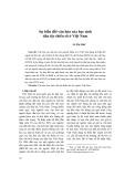 Sự biến đổi văn hóa của học sinh dân tộc thiểu số ở Việt Nam