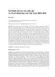 Sự thành bại của các quốc gia và chỉ số thành bại của Việt Nam 2005-2016