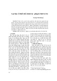 Lại bàn về thiết chế chính trị - pháp lý thời Lê Sơ