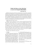 Chính sách khoa cử của triều Mạc và vai trò của Nguyễn Bỉnh Khiêm