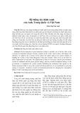 Hệ thống tài chính xanh của Anh, Trung Quốc và Việt Nam