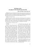 Nội dung cơ bản của phạm trù tín trong Nho giáo tiên Tần