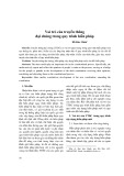 Vai trò của truyền thông đại chúng trong quy trình hiến pháp