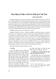 Hoạt động từ thiện xã hội của Phật giáo Việt Nam