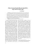 Tình yêu trong Truyện Kiều của Nguyễn Du từ góc nhìn nữ quyền luận