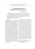Tư tưởng Phật giáo trong đường lối trị nước của các vua Trần