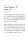 Đổi mới giảng dạy môn Đường lối cách mạng của Đảng Cộng sản Việt Nam