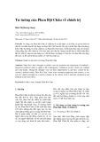 Tư tưởng của Phan Bội Châu về chính trị