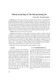 Tính tự trị của làng xã Việt Nam qua hương ước