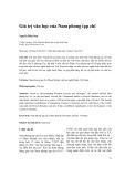 Giá trị văn học của Nam phong tạp chí