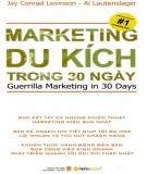 Ebook Marketing du kích trong 30 ngày: Phần 1 - NXB Lao động xã hội