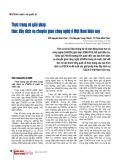 Thực trạng và giải pháp thúc đẩy dịch vụ chuyển giao công nghệ ở Việt Nam hiện nay