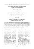Phân tích phổ NMR của các hợp chất 4-Azido-2-Metylquinolin thế