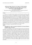 Đánh giá khả năng xử lý COD nước rỉ rác bằng quá trình Fenton kết hợp Axit oxalic