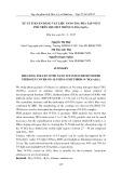 Xử lý Toluen bằng vật liệu Nano tio2 pha tạp Nitơ phủ trên sợi Oxit nhôm (N - Tio2/ Al2o3)