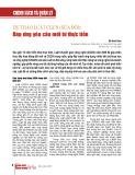 Dự thảo luật CGCN (sửa đổi): Đáp ứng yêu cầu mới từ thực tiễn