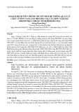 Hoạch định tiến trình chuyển đổi hệ thống quản lý chất lƣợng sang iso 9001:2015 tại các đơn vị hành chính trực thuộc tỉnh Bình Dương