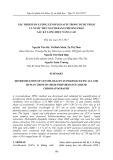 Xác định hàm lượng Levofloxacin trong dược phẩm và nước tiểu người bằng phương pháp sắc ký lỏng hiệu năng cao