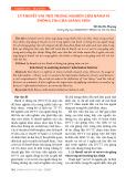 Lý thuyết vai trò trong nghiên cứu hành vi thông tin của giảng viên