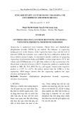 Tổng hợp sét hữu cơ từ Bentonit (Thanh Hóa) với Etyltriphenyl photphoni bromua