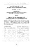 Nghiên cứu phổ cộng hưởng từ hạt nhân của một số Amin bậc 2 được tổng hợp từ Vanillin