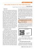 QR code và dịch vụ thư viện đại học