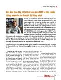 Việt Nam thúc đẩy, triển khai sáng kiến APEC về tiêu chuẩn, chứng nhận cho mô hình đô thị thông minh