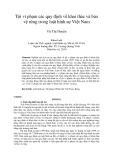 Tóm tắt Luận văn Thạc sĩ Luật học: Tội vi phạm các quy định về khai thác và bảo vệ rừng trong luật hình sự Việt Nam