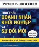 tinh thần doanh nhân khởi nghiệp và sự đổi mới: phần 1 - nxb kinh tế quốc dân