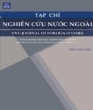 Nghiên cứu sự chuyển di tiêu cực về phạm trù số trong danh từ từ tiếng Việt sang tiếng Anh