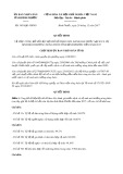 Quyết định số 3450/QĐ-UBND tỉnh Bình Phước