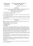Quyết định số 4848/QĐ-UBND tỉnh Bình Định
