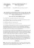 Quyết định số 66/2017/QĐ-UBND TP HCM