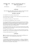 Quyết định số 2080/QĐ-TTg năm 2017