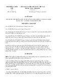 Quyết định số 2113/QĐ-TTg năm 2017