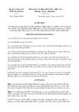 Quyết định số 4128/QĐ-UBND tỉnh Thanh Hóa