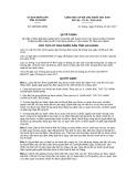 Quyết định số 3823/QĐ-UBND tỉnh An Giang
