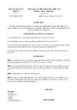 Quyết định số 358/QĐ-UBND Quận 10