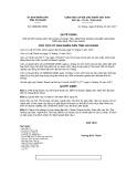 Quyết định số 3538/QĐ-UBND tỉnh An Giang