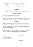 Quyết định số 51/QĐ-TTg năm 2018